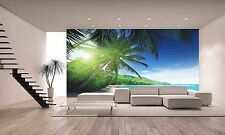 Photo Wallpaper SUNSET TIME ON ISLAND GIANT WALL DECOR PAPER POSTER FOR BEDROOM
