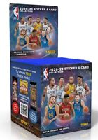 NBA 2020/21 Panini – Box of 50 Packets of Stickers and Cards - 500 to collect!