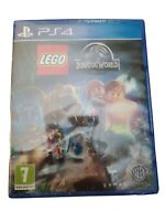 PLAYSTATION 4 PS4 GAME LEGO JURASSIC WORLD BRAND NEW AND SEALED
