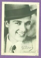 1920'S ORIGINAL PARAMOUNT STUDIO FAN PHOTO SILENT FILM ACTOR CHARLES ROGERS VG/E