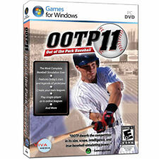 Out Of The Park Baseball 11 OOTP League Deluxe PC Open Box