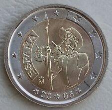 2 Euro Spanien 2005 Don Quichote unz