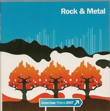 CD COMPIL 14 TITRES-ROCK & METAL-COME HEAR FINLAND 2007