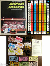 Complete Vintage 1978 SUPER MONEY Gamma Two Games #2008 MINT VERY RARE