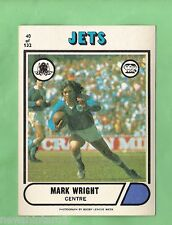 1976 SCANLENS RUGBY LEAGUE CARD #40  MARK WRIGHT, NEWTOWN JETS