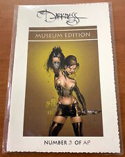 Image DARKNESS #11 Museum Edition! AP#3!! Silvestri Cover!! In Hand!! HTF! RARE!