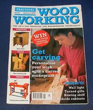 Practical Woodworking Craft Magazines For Sale Ebay