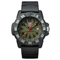 Luminox Master Watch Carbon Seal 3800 Series Men's Green Dial Black Strap 3813