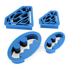 4tlg. Ausstecher Ausstechform Stempel Modellierwerkzeug Biskuit Keks Fondant Set