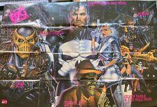 PUNISHER PROMO POSTER-HUGE! 50x34 -ORIGINAL 1992 MARVEL COMICS