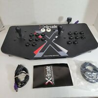 X-Arcade Dual Joystick Video Game Controller XGaming Maximus PS/2 Console System