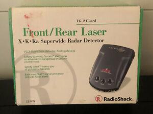 Radio Shack 22-1676 X K Ka Superwide Radar Detector - Brand New in Box