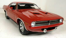 Acme 1/18 Scale A1806104RB 1970 Plymouth Barracuda Rallye Red Ronnie Sox Highway