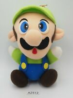 "Luigi A2512 Super Mario Bros Banpresto 1992 Plush 6"" Stuffed Toy Doll Japan"