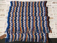 MISSONI Ladies Wrap Italian Made Signature Zigzag Multi Col Blended Scarf RP£150