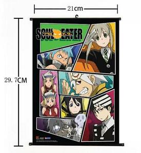 Hot Japan Anime  Soul Eater Group Collage Home Decor Poster Wall Scroll