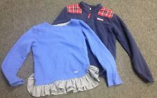 VINEYARD VINES Girl's Lot Of 2 Zipper Jacket And Layered Sweatshirt Sz L GG0917
