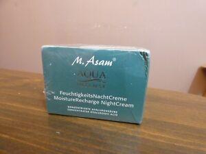 M. Asam Aqua Intense Moisture Recharge Night Cream Hyaluronic Acid 50 ml 1.69 oz