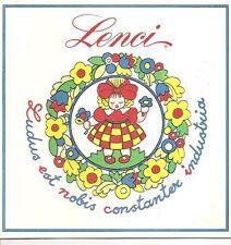 Vintage 1977 LENCI Doll Sales Sample Catalog / Catalogue ~ felt dolls ITALY