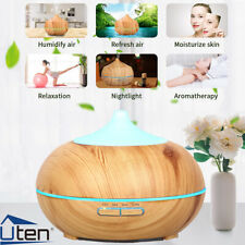 LED Aroma Diffuser Humidifier Aromatherapie Diffusor Ultraschall Luftbefeuchter