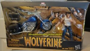 Marvel Legends Riders Series WOLVERINE & Motorcycle Action Figure Deluxe Box Set