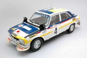 1:18 IXO Peugeot 504 Ti  #4 1975 Morocco Rally Timo Mäkinen and Henry Liddon