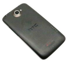 Original HTC ONE X Akkudeckel Backcover Deckel Gehäuse Schwarz Black