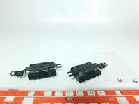 BH415-0,5# 2x Märklin H0 Drehgestelle/Achsen für Schürzenwagen 346/*