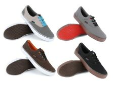 Mens Lace Up Skate Trainers Flat Casual Canvas Pumps Plimsoll Shoes Age Size