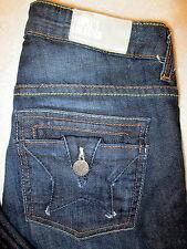 People's Liberation Skinny Stretch Womens Dark Denim Jeans Size 24 x 28.5 Mint