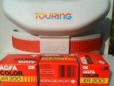 AGFA XR 200 DX Film Color Print 3X36 SEALED PACK Touring Promotional Carry bag