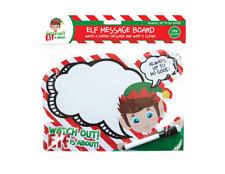 ELF MESSAGE BOARD WIPE CLEAN CHRISTMAS FUN FOR BOYS GIRLS