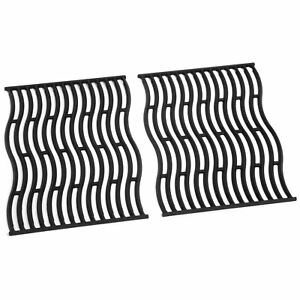 Napoleon S83005 Replacement Cast Iron Cooking Grids for LEX 485 Grills, Black