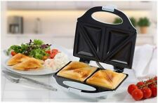 COMPACT 2 PORTION FINE ELEMENTS WHITE READY INDICATOR LIGHT SANDWICH TOASTER