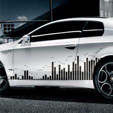 2x MUSIK Design 180cm Seitenaufkleber Streifen Auto Aufkleber Tuning JDM KFZ S32