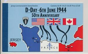 LO37915 Jersey d-day anniversary prestige booklet MNH