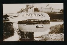 Somerset PORTISHEAD M/view RP PPC Used 1924