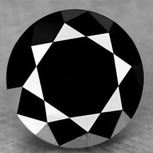 1.50Ct    BLACK REAL MOISSANITE LOOSE ,.,