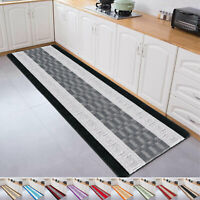 Non Slip Kitchen & Hallway Runner Rug Large Living Room Floor Carpet Small Mats