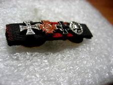 German Medal Ribbon Pins Iron,Hindenburg Cross,Wound B.