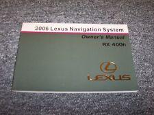 2006 Lexus RX330 Navigation System Owner Owner's Operator Guide Manual 3.3L V6