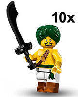 LEGO Minifigures Series 16 - DESERT WARRIOR MINIFIGURE ARMY PACK (10pcs) 71013