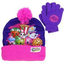 Shopkins Girls Winter Hat & Gloves Set