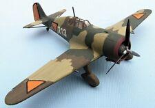 FOKKER D.XXI, LVA, 1940,scale 1/72,Hand-made plastic model