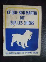 Libro Pubblicitaria E Consigli Questa che Compare Bob Martin Dit Sul I Cani