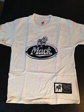 BNWOT Boys Sz 14 to 16 Genuine Mack Cool White Bulldog Logo Short Sleeve Tee Top