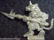 1985 Skaven C47 GLAVE clanrat con HALBERD caos ratmen Citadel ESERCITO stormvermin