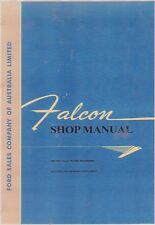 FORD 1960 TO 1963 FALCON  FACTORY REPAIR MANUAL Includes the 1964 XM Supp