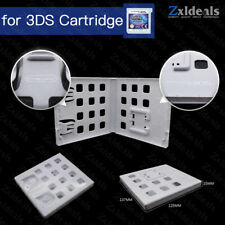 Replacement Case for 3DS Game Cart Spare Cartridge White Game Box With Logo