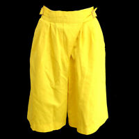 Christian Dior Sports #L U1120 Vintage Pants Yellow 100% Cotton 00546